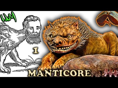 All About : Manticore - Mythical Creatures (PART 1 of 2) MONSTER