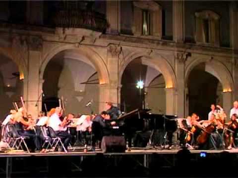 Rachmaninoff Concerto N.2, op.18 (3rd mov). Soloist - Giuseppe Andaloro, Conductor - Epifanio Comis
