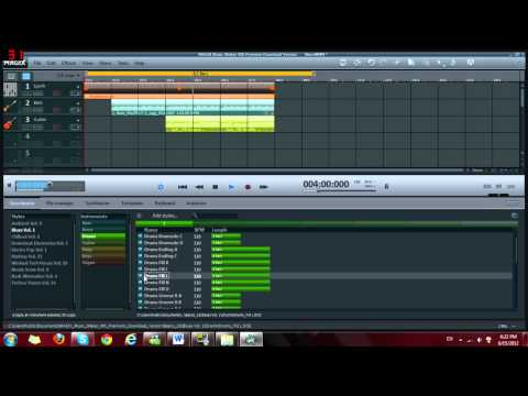 How to make your own music with Magix music maker MX