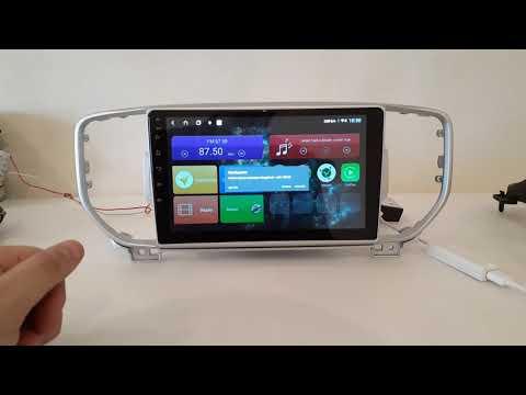 Магнитола на Kia Sportage 2016+ Android 8.1.0 с DSP и 4G LTE