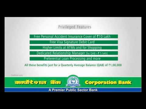Corp BANK  Signature