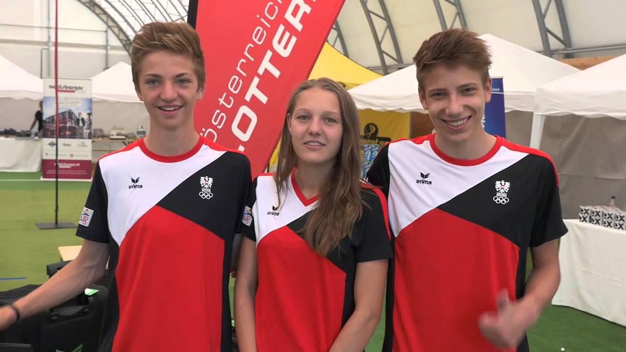 youth olympic team austria einkleidung eyof tiflis 2015 youtube. Black Bedroom Furniture Sets. Home Design Ideas