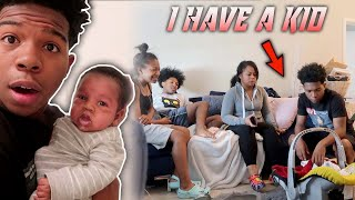 I TOLD MY FAMILY I'VE BEEN HIDING MY BABY FROM THEM! *My Mom Cried*
