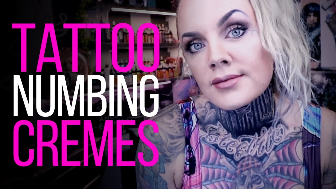Tattoo Numbing Creams By Tattoo Artist Electric Linda