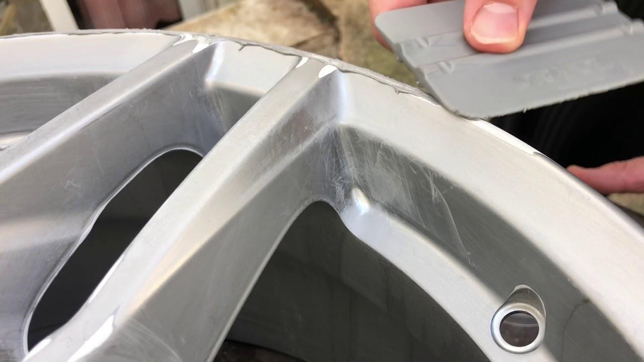Car Rim Repair >> How To Repair An Alloy Rim With 2k Presto Car Repair Putty Car Alloy Rim Repair Instruction Diy
