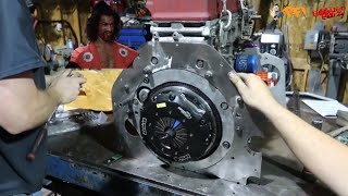 SHO'NUFF we set up the Clutch and Throwout bearing shimming