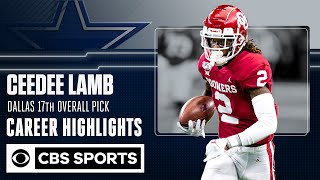 CeeDee Lamb: The Dallas Cowboys 17th overall pick | Career Highlight  | CBS Sports