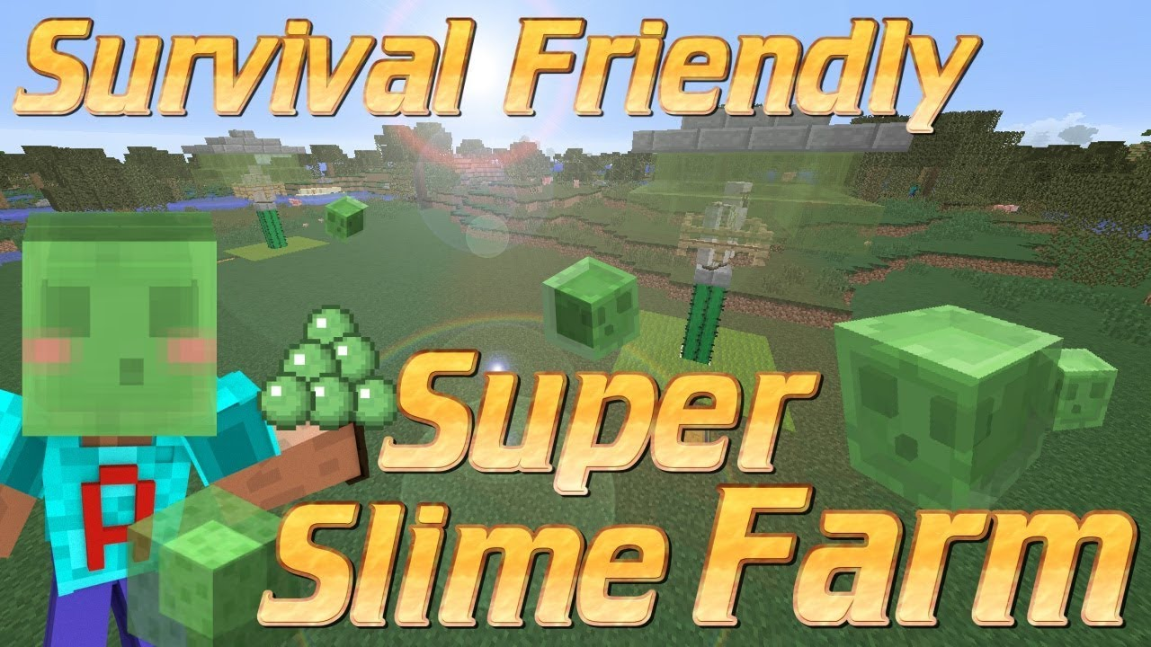 How to make a slime farm in minecraft survival friendly slime farm how to make a slime farm in minecraft survival friendly slime farm minecraft tutorial no redstone ccuart Image collections