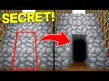 10 SECRET ROOMS IN MINECRAFT! (100% HIDDEN!)