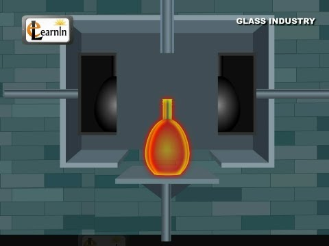 Glass making - Industry process - Chemistry