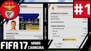 39;DELE ALLI A CAMINHO39;  SL Benfica FIFA 17 Modo Carreira 01