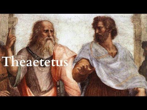 Plato | Theaetetus - Full Audiobook With Accompanying Text (AudioEbook)