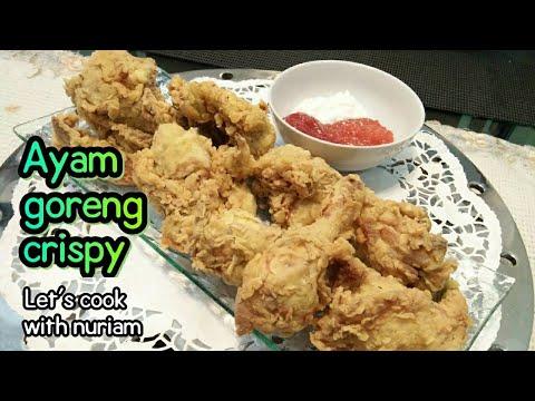 Resep Ayam Goreng Crispy (Crispy Fried Chiken)