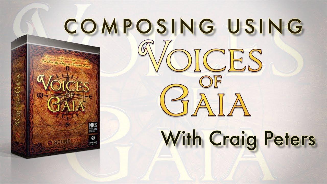 soundiron – voices of gaia (kontakt)