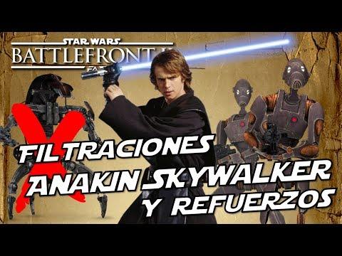Star Wars Battlefront 2 Nuevas Noticias Mas filtraciones Anakin, Nuevos Refuerzos y Modo de Juego thumbnail
