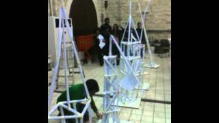 Paper Tower Building At The Cyprus University Of Technology (year 1 Team E)