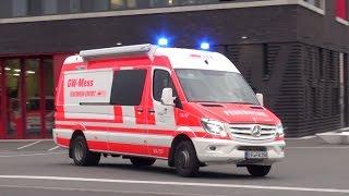 [GASGERUCH] RTW ASB + HLF 20/24 + neuer GW-Mess BF Erfurt FW Süd + RTW MHD