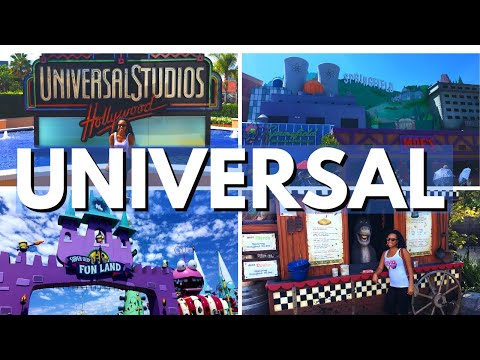 Universal Studios Hollywood Rides (Family Vlog Hollywood California)