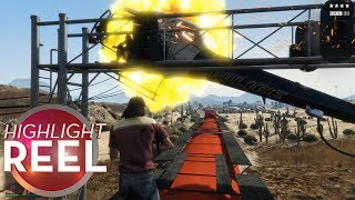 Highlight Reel #510 - GTA Player Has Close Shave
