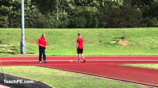 Javelin Coaching - run up part 2