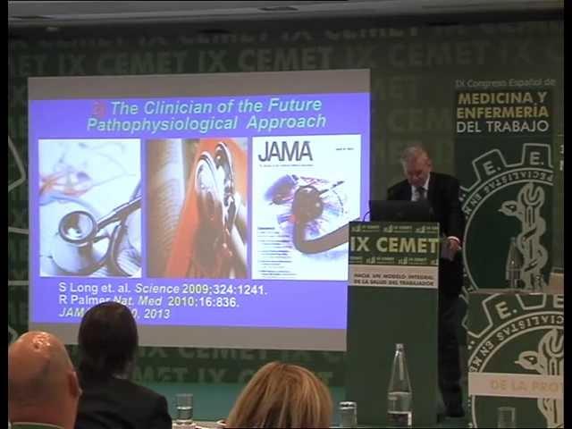 Conferencia Magistral Dr. Valentin Fuster IX CEMET sep 2013