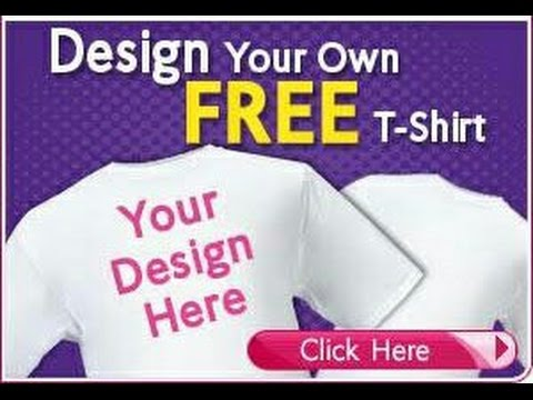 9fc3bd17 The Best Vistaprint Design Your Own Free T-Shirt - YouTube
