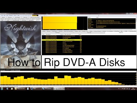 How To Rip Audio DVD's