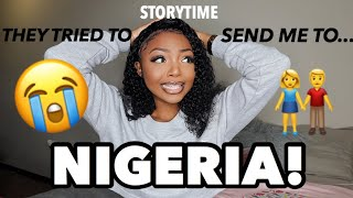*STORYTIME* MY AFRICAN PARENTS ALMOST SENT ME TO NIGERIA LOL 😭🇳🇬 | Tuneful Hair