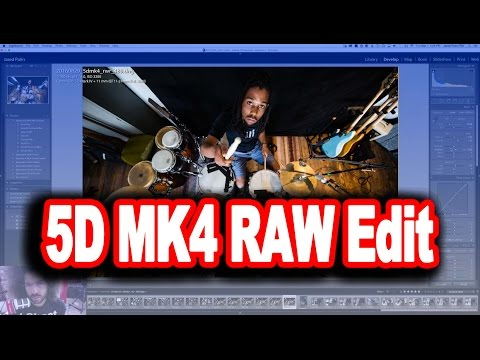 "Canon EOS 5D Mark IV: Editing the ""Real World Review"" RAW Files In Adobe Lightroom CC"