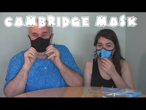 Cambridge Mask Review- for Colds and Cold Wars | EpicReviewGuys 4k CC