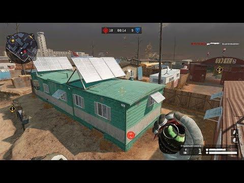 ходим по крышам зданий , делаем эксперименты Warface