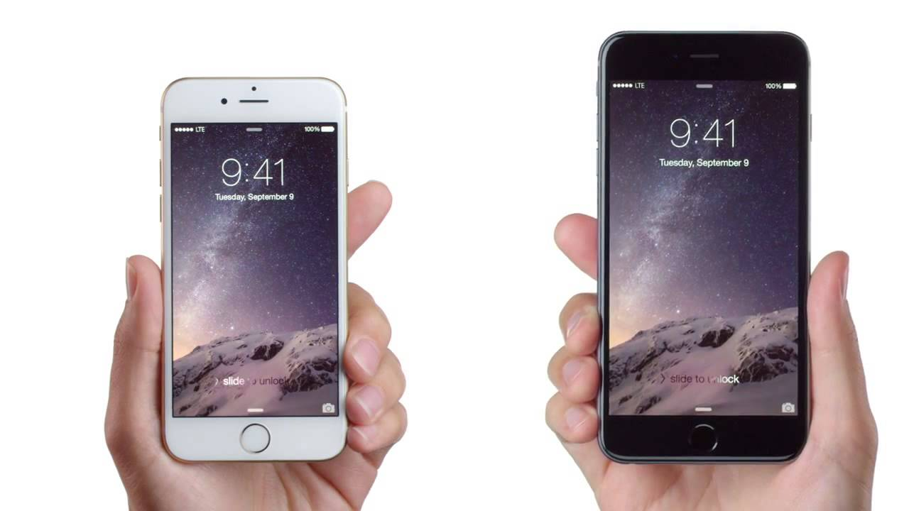 Apples Official IPhone 6 Plus TV Ad