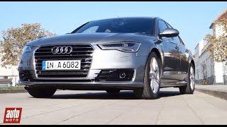 2015 Audi A6 2.0 TDI Ultra : essai AutoMoto