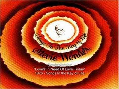 Love's in Need of Love Today is listed (or ranked) 2 on the list The Most Underrated Stevie Wonder Songs