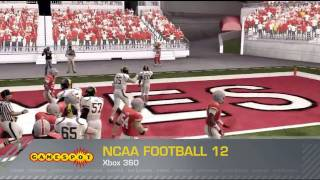 GameSpot Reviews - NCAA Football 12 (PS3, Xbox 360)