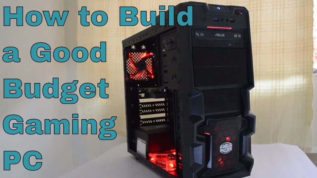 How to build a gaming computer for $500.