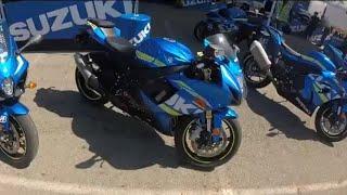 2018 Suzuki GSXR750 Ride Review!