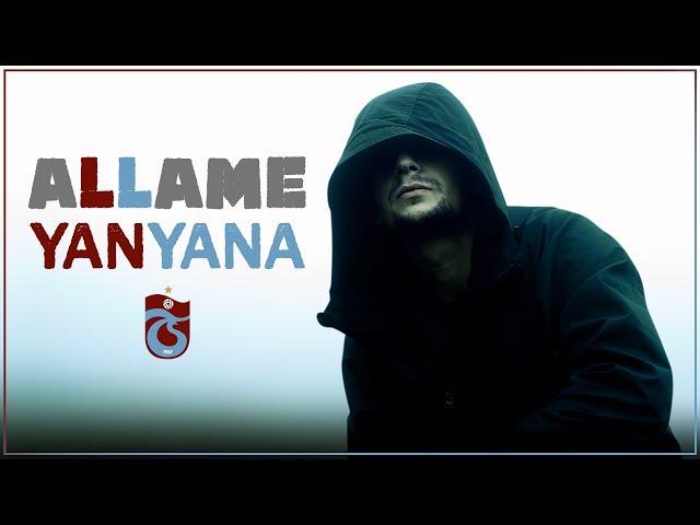 Ünlü Rapçi Allame'nin Trabzonspor için söylediği şarkı taraftarın beğenisine sunuldu