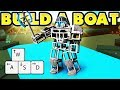 Build a Boat WORKING ROBOT! 🕹️ (It can WALK!)
