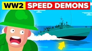 Insane Torpedo-Armed Fast Attack Vessel - WW2 Speed Demons