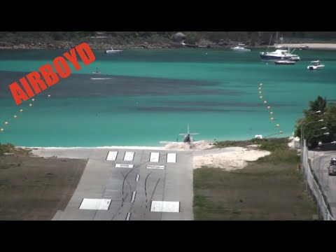St Barts Runway Overrun