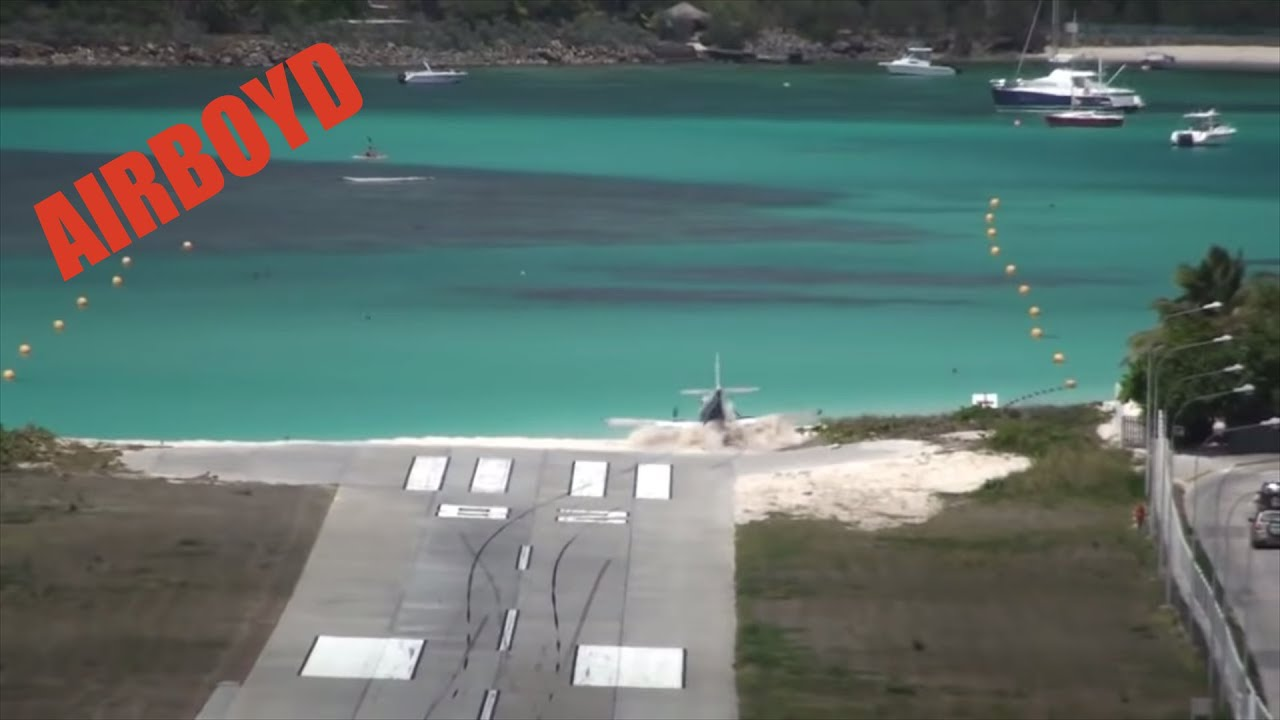 Download St Barts Runway Overrun