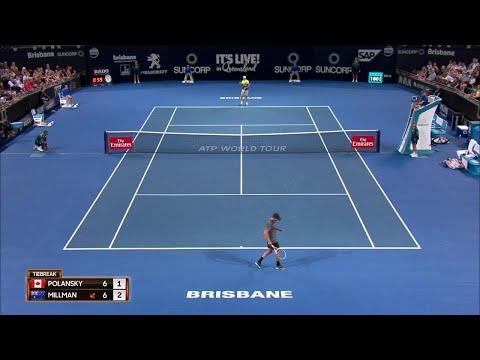 ATP Match Highlights Night Session Day 3 | Brisbane International 2018