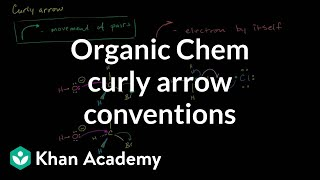Curly arrow conventions in organic chemistry