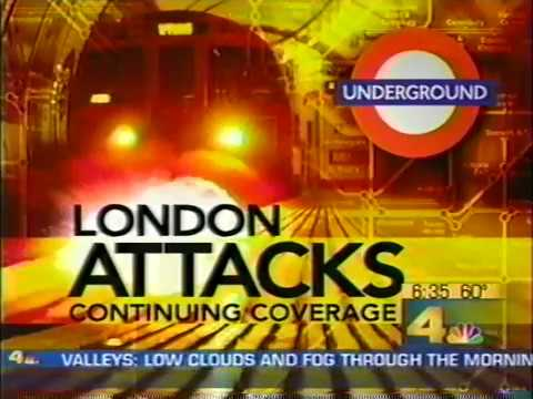 London Bombing news stories July 2005