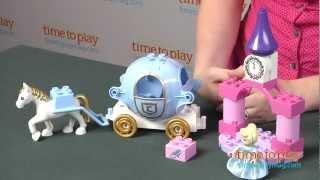 Lego Duplo Disney Princess Cinderella's Carriage From Lego