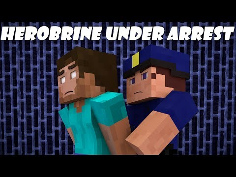 If Herobrine Got Arrested - Minecraft