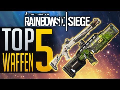 TOP 5 SEMI AUTO SCHROTFLINTEN   Rainbow Six Siege