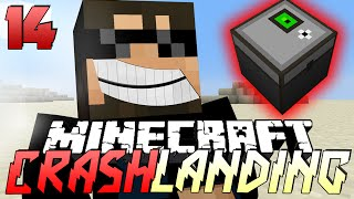 Minecraft Crash Landing 14 - APPLIED ENERGISTICS CHEST