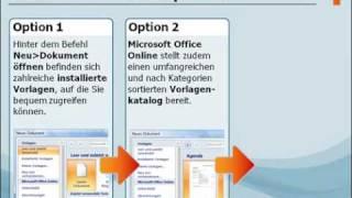 Lernmodul: Arbeiten mit Vorlagen